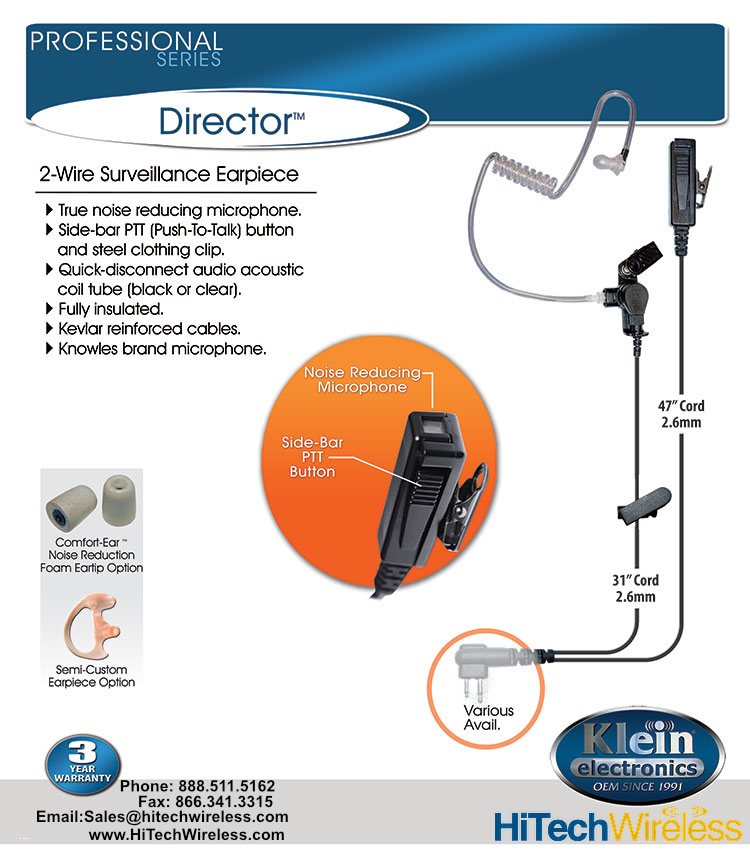 Klein Director-K4 for NX-P500