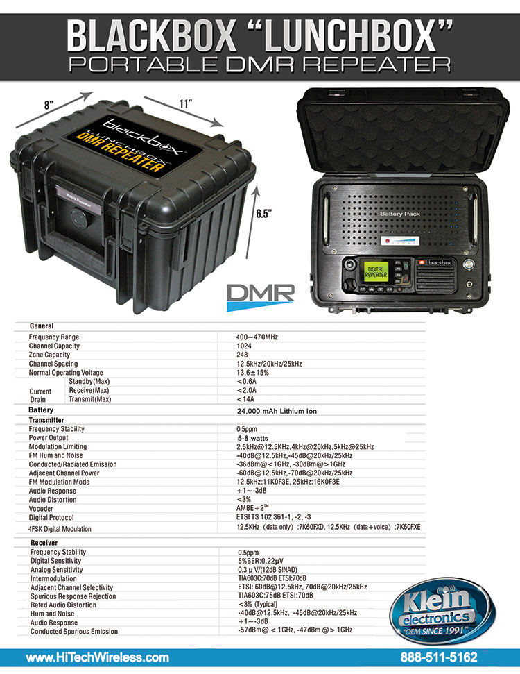 Blackbox Repeater Data Sheet