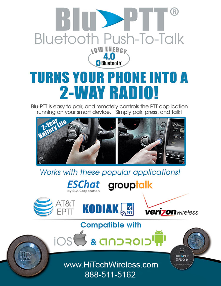 Klein Bluetooth Blu PTT for Verizon flyer